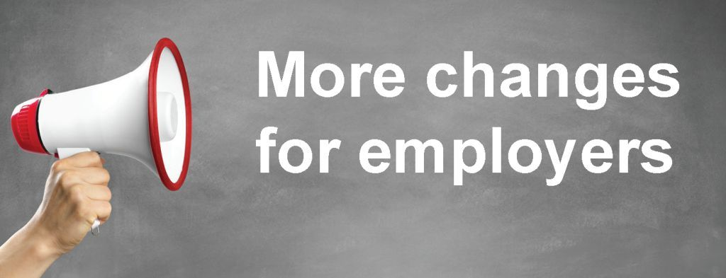 More changes for employers image