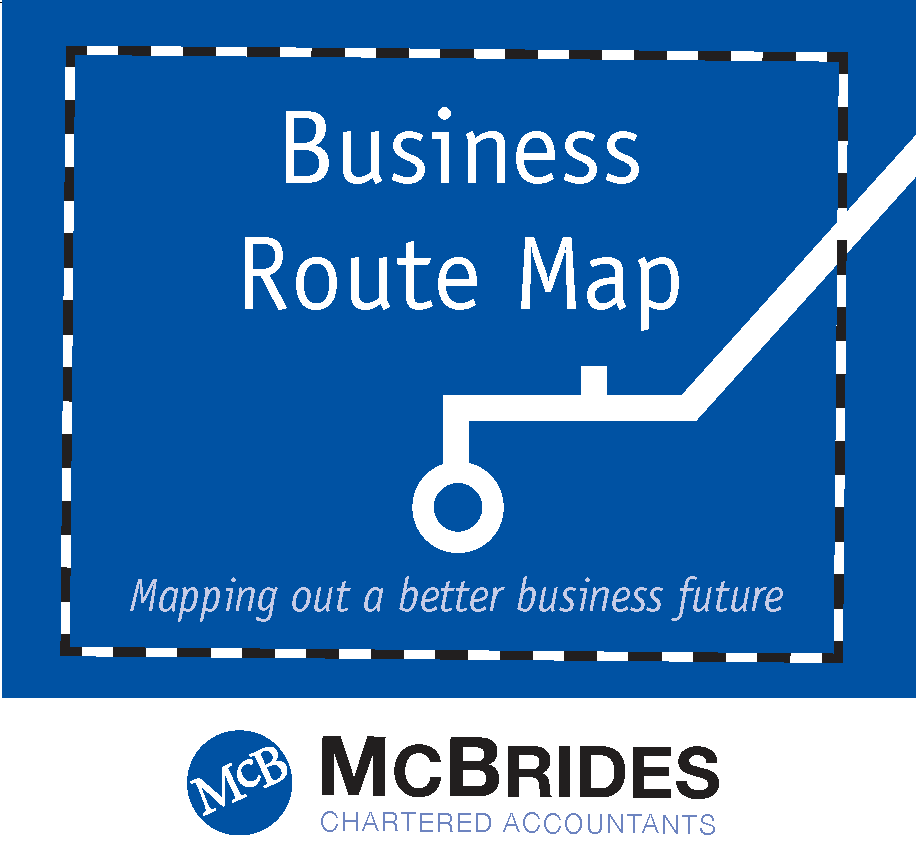 McBrides Accountants Business Route Map front cover