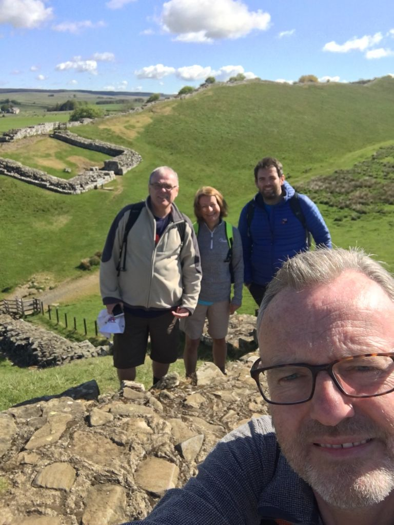 Kimbers conquer Hadrian's Wall image