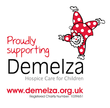 Eating cake & Jumping over fire to raise funds for Demelza image