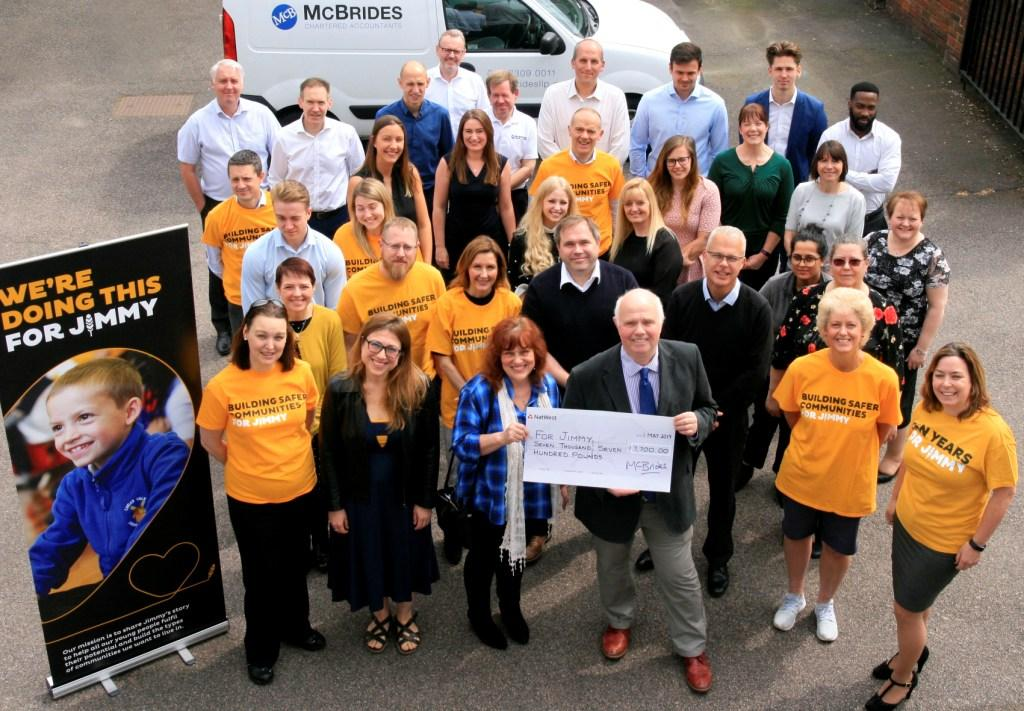 McBrides staff inspired to raise funds 'For Jimmy' image