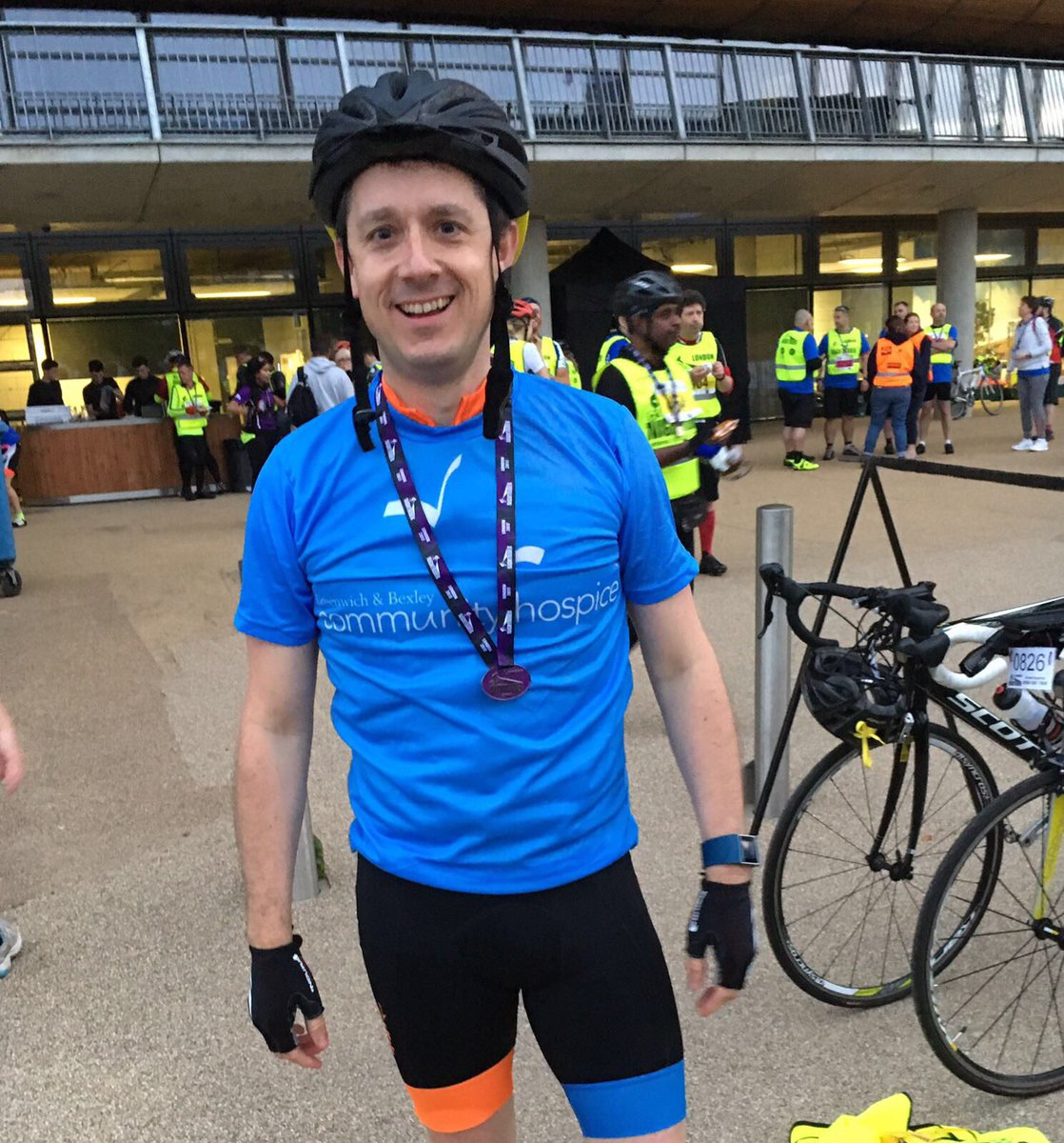 Nightrider raises a tidy sum for Greenwich & Bexley Community Hospice! image