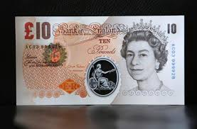 Paper £10 notes set to be demonetised image